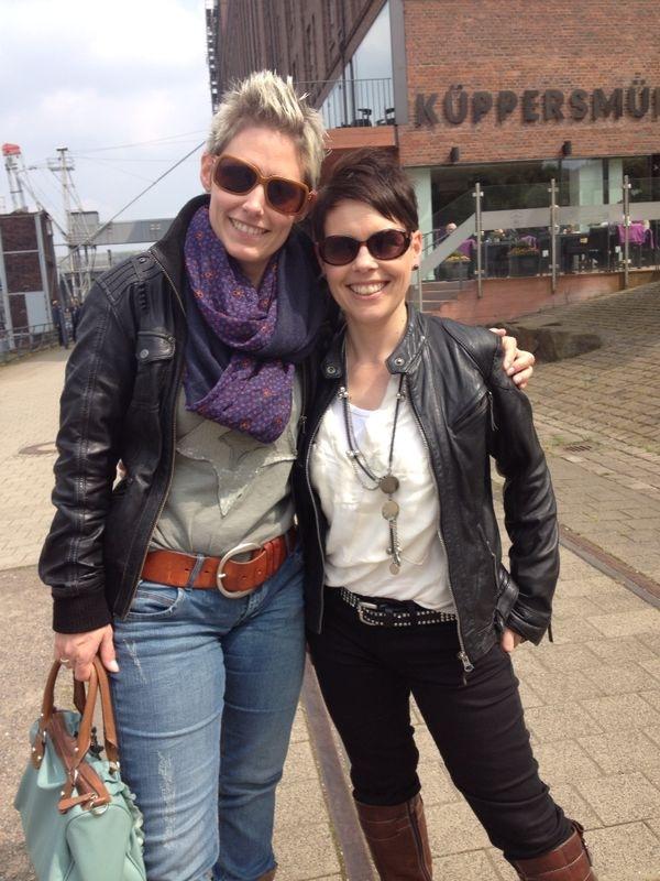 Meine geliebte Schwester mit mir in Oberhausen dieses Jahr